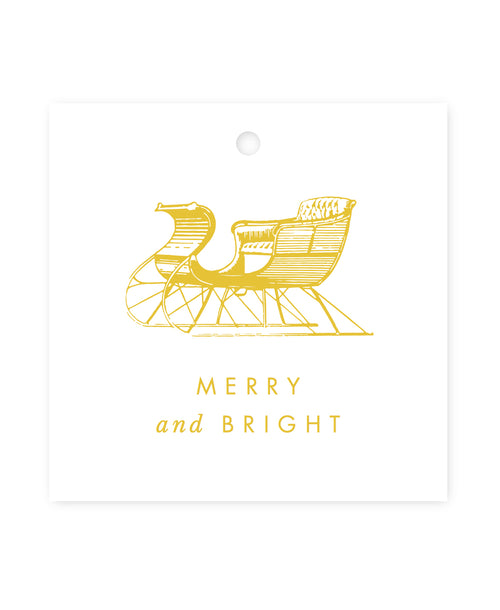Exclusive Sleigh Gift Tags