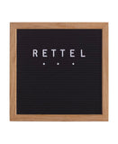 Small Black Letter Board
