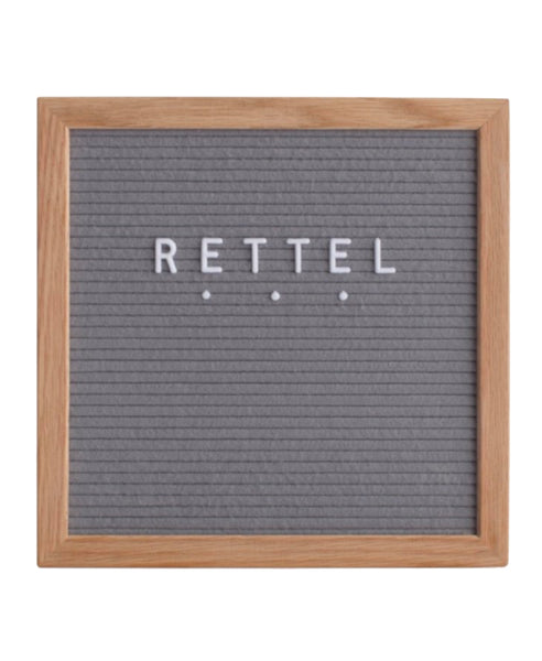 Small Gray Letter Board