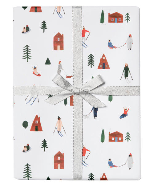 Snow Day Gift Wrap