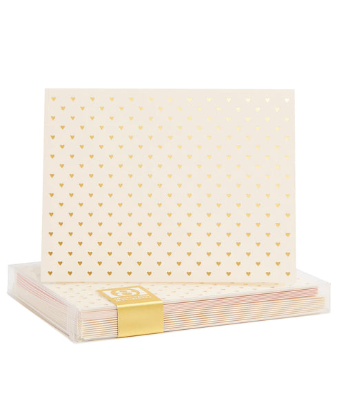 Tiny Hearts Boxed Card Set