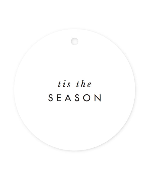 *'Tis the Season Gift Tags