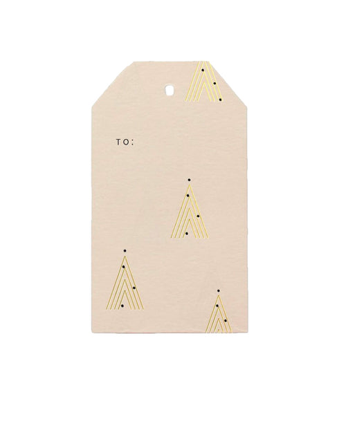 Holiday Trees Gift Tags