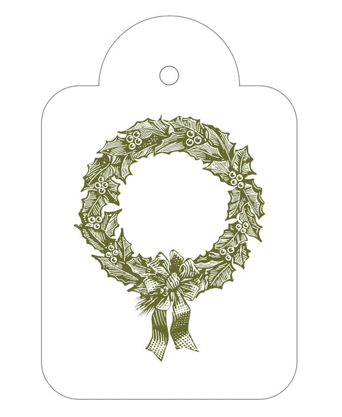 2020 Exclusive - Wreath Gift Tags