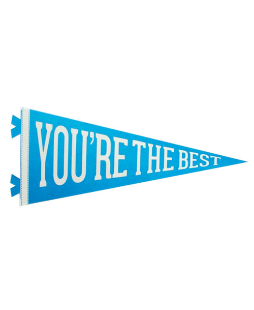 You're the Best Pennant Card