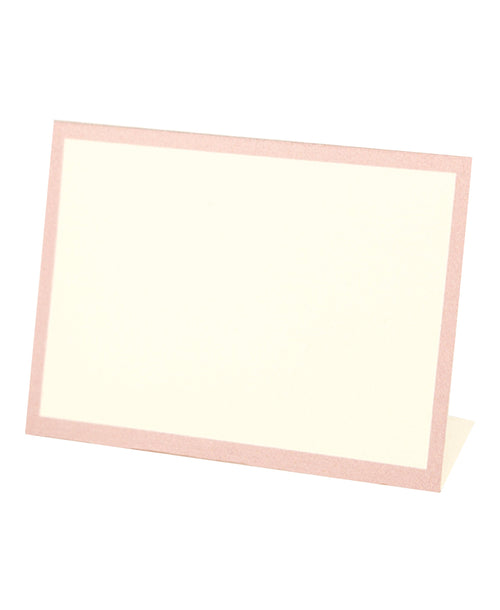 Frame Place Cards - Pink (Bottom Fold)