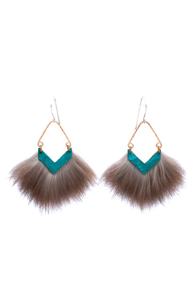 mini patina earrings that make a bold statement