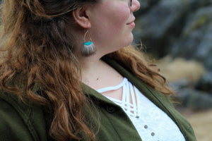 natural jewelry with blue tones