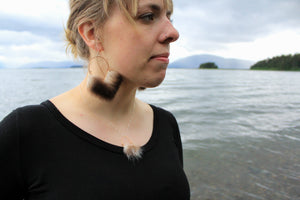 modern fur jewelry inspired by the ocean