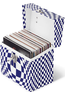 Master Carton of 6 - SKU MC4504 - 45 CASE - Illusion Blue Vinyl