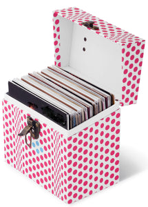 Master Carton of 6 - SKU MC4505 - 45 CASE - Folding Dots Pink