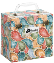 Paisley Parts Vinyl Record Storage Box And Carrying Case for 45 RPM Records