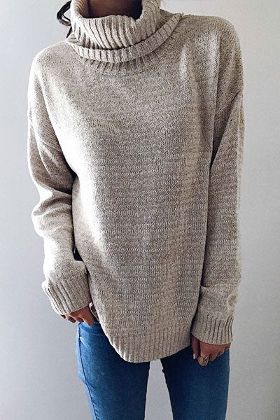 Hebegal Henry Rolled Neck Sweaters