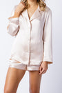 Ann shirt in blush, front alt