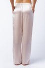 Bella pants in blush, back