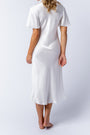 Liz dress in alabaster, back