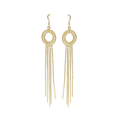 Aura Tassel Earrings - Casapuri