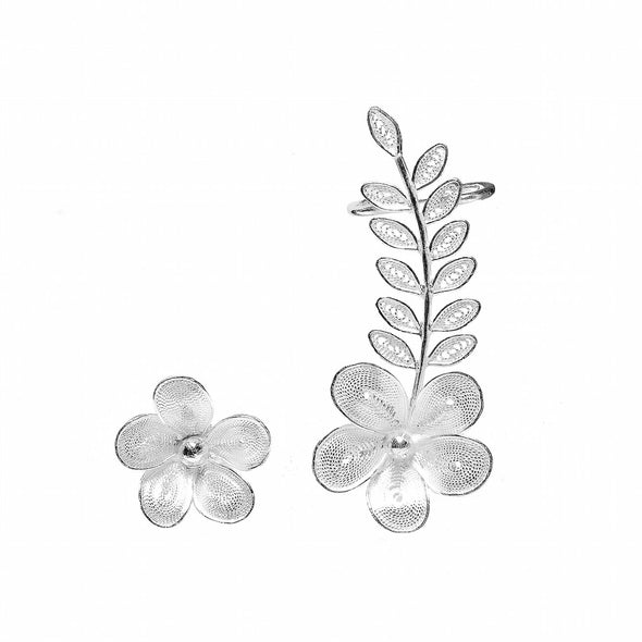 FRANGIPANI EARRINGS - Casapuri