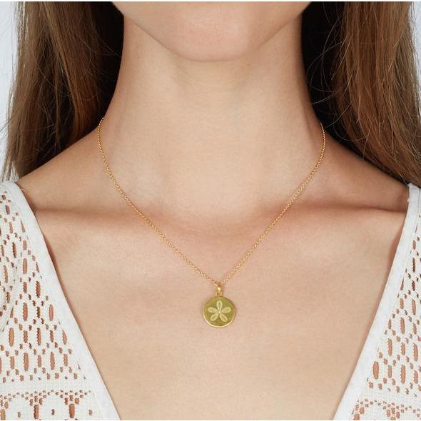Archipelago Sand Dollar Coin Necklace - Casapuri