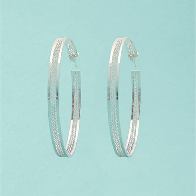 PADMA HOOP EARRINGS - Casapuri