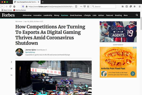 How Competitions Are Turning To Esports As Digital Gaming Thrives Amid Coronavirus Shutdown