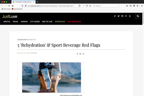 5 'Rehydration' & Sport Beverage Red Flags