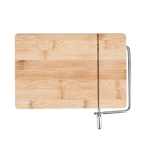 Wireslice Bamboo Cheese Slicing Board by True