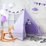 Kids Indian TeePee Tent Children Playhouse