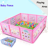 Baby Playpen Kids Fence Playpen Plastic Baby Safety Fence