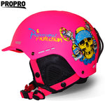 2017 New PROPRO 006 Ski Helmet Integrally-molded Snowboard helmets Men Women Skating Skateboard Skiing Protector ,Free shipping