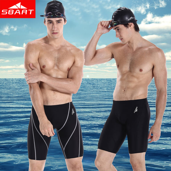 SBART Men Swimwear Professional Mens Swimming Trunks Shorts For The Beach Plus Size men swimwear swimsuits short swimming trunks