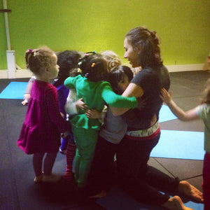 Kids and Family Happy Time Yoga