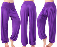 Loose Cotton Comfy Yoga Pants - Genie Style