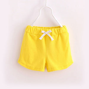 Kids Light Cotton Shorts - for Yoga, for Play, for Sleep