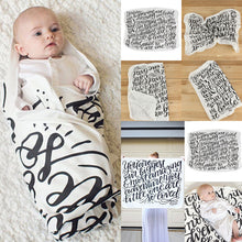 Mulsin Baby Blanket in Seven Adorable Patterns