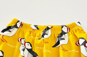 Baby Pants with Animal Characters - for Yoga, for Lounging, for Play