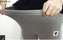 Maternity Cotton Leggings - Great for Prenatal Yoga! Three shades to choose from