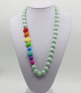 Splash of Color Teething Necklace
