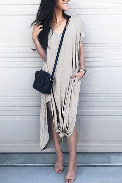 Venidress See Me Pocket Maxi Dress