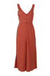 Venidress V Neck Back Bandage Design Jumpsuits