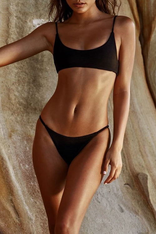 Venidress Fashion Black Bikini Set