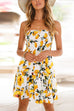 Venidress Bohemian Off Shoulder Sleeveless Mini Dresses