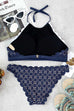 Venidress Fashion Print Two-piece Swimwears