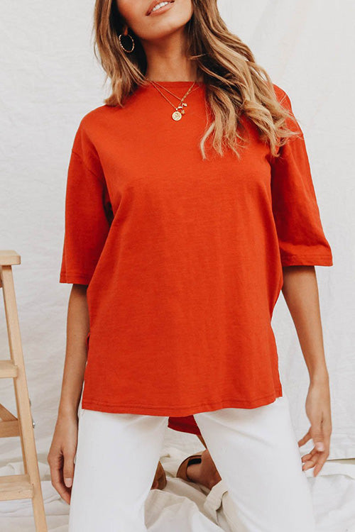 Venidress Sunset Side Slit T-shirt