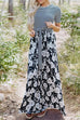 Venidress Casual Floral Printed Floor Length Dress