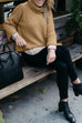 Venidress Casual Turtleneck Long Sleeve Sweater