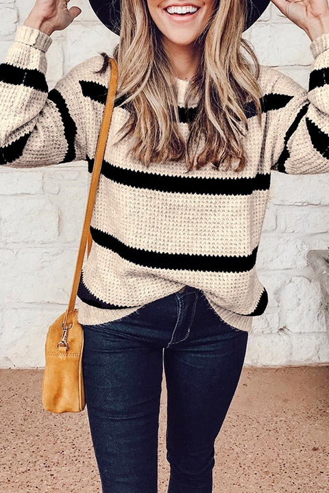 Venidress Casual Striped Sweaters