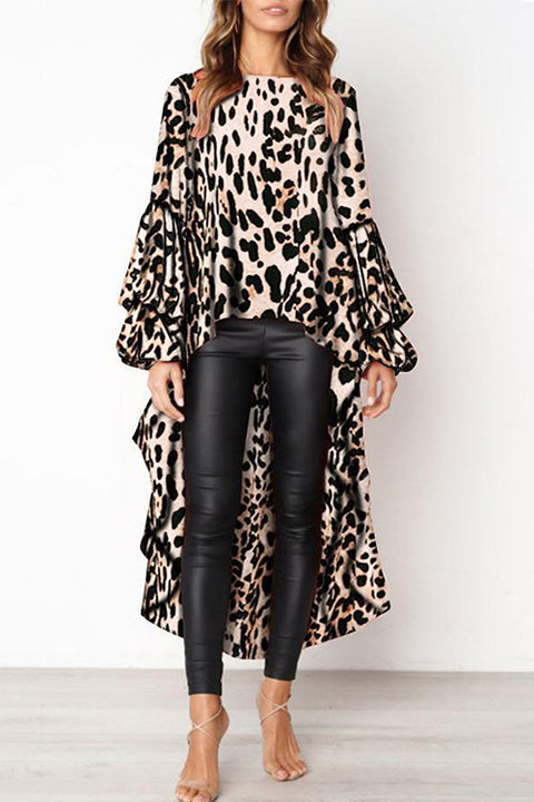 Venidress Stylish Leopard Print Shirts