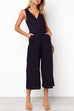 Venidress Loose Solid One-piece Jumpsuit