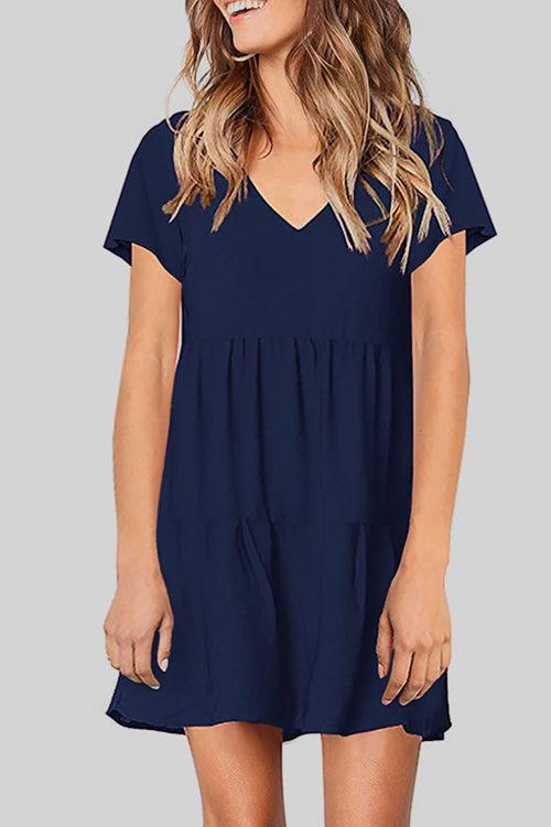 Venidress Casual Loose Mini Dress